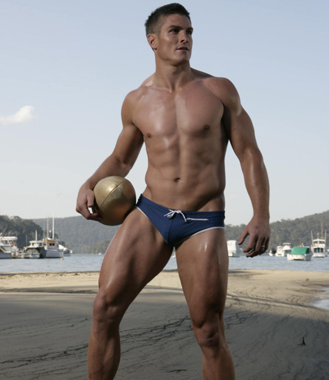 Aussie Rugby Player Matt Ballin Bulge 1