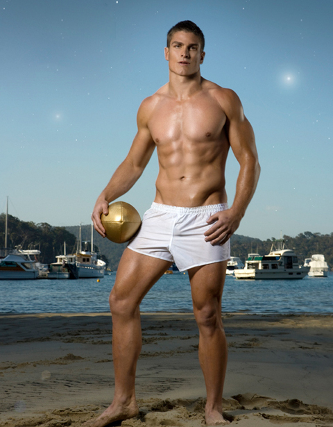 Aussie Rugby Player Matt Ballin Bulge 2