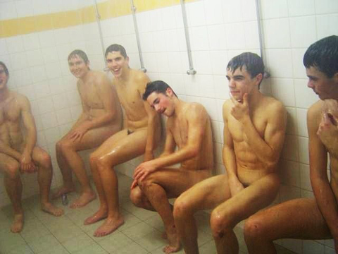 Athletes Naked in Locker Rooms