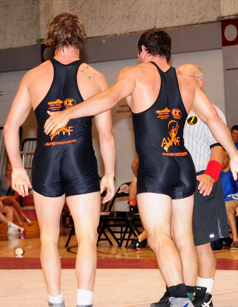 Hot College Wrestlers