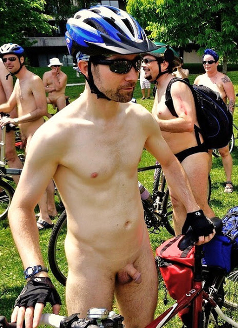 Hot Naked Cyclists