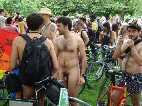 Nude Cyclists 1