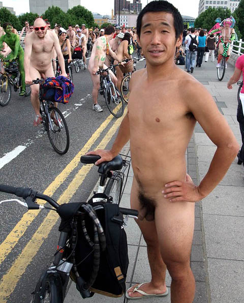 Nude Cyclists 2