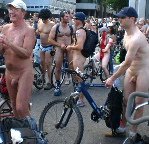 Nude Cyclists 3