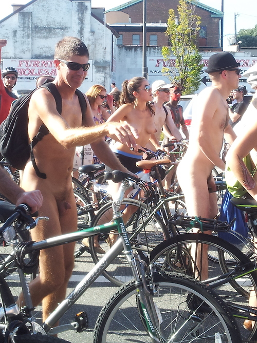 Naked Bike Ride 3