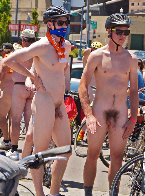 Naked Bike Ride 8