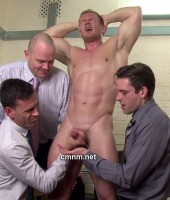CMNM - Masculine Enrico's Arsehole Penetrated