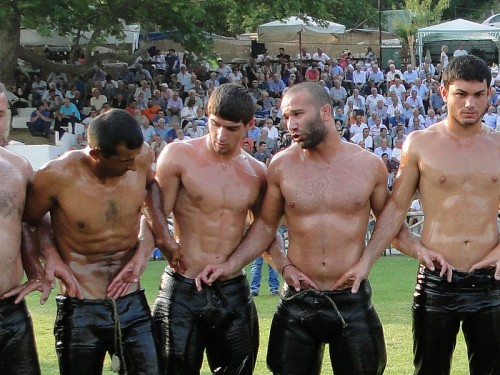 Turkish oil wrestling 1
