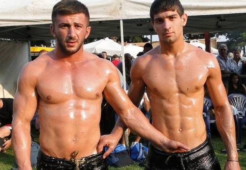 Turkish oil wrestling 2